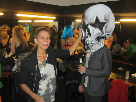 Dragonette's Martina Sorbara and Starskull in Argentina