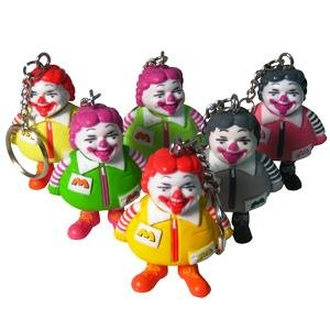 In 2008, the very first MC Supersized Keychains were released. Since then they continue to be released in different color versions.