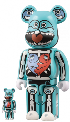 "This 10"" Be@rbrick was produced in conjunction with Medicom Toys back in 2007. This was Ron's very first Be@rbrick and was produced 10"" tall and a smaller version was released as well."