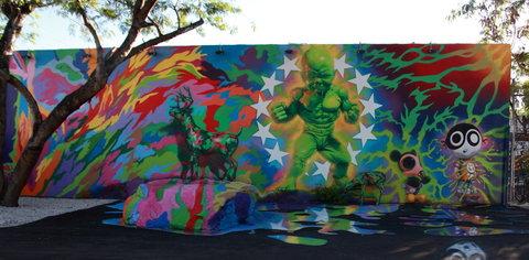ron's hulkboy mural